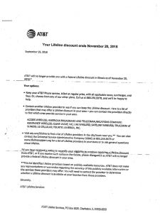 Q&A on AT&T ending the Lifeline discount for landline